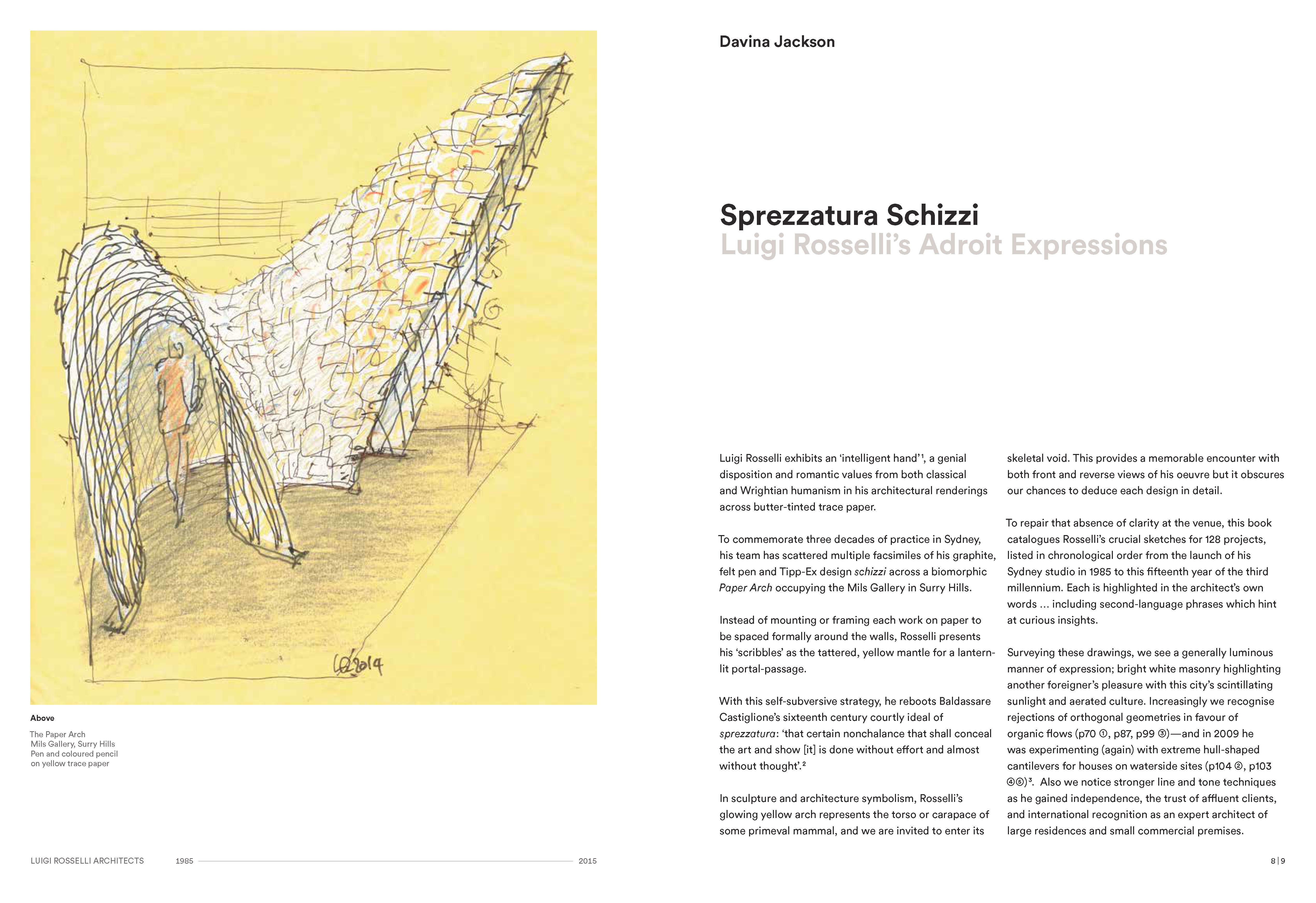 Luigi Rosselli: Perspectives
