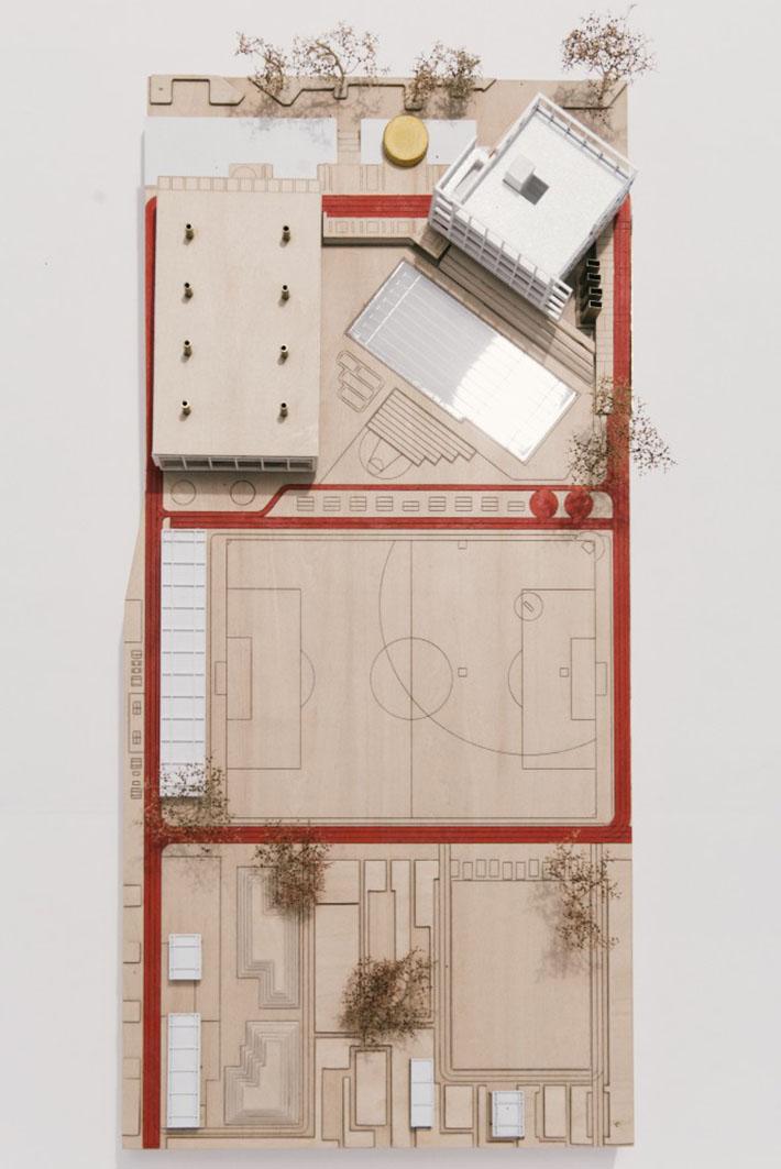 Green Square Aquatic Centre Stage 2 Presentation Model